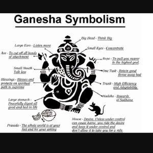 Silverskylight Jewelry - 🔴SALE !Ganesh/Ganesha boho silver dangly earrings